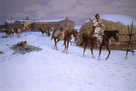 Художник Том Ловелл (Tom Lovell)